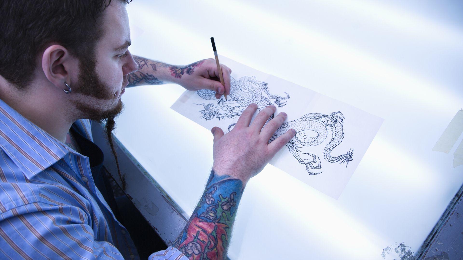 Se tatouer un Dragon sur le corps