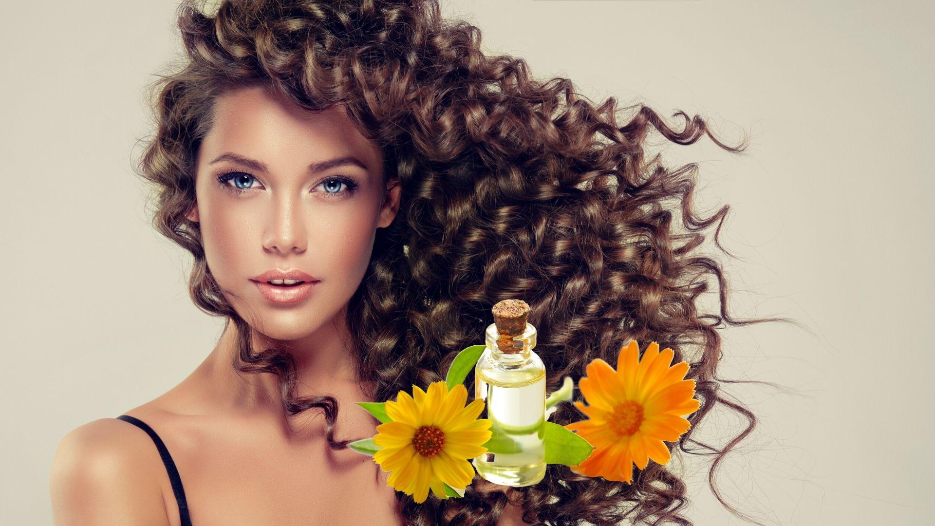 Huiles essentielles pour cheveux