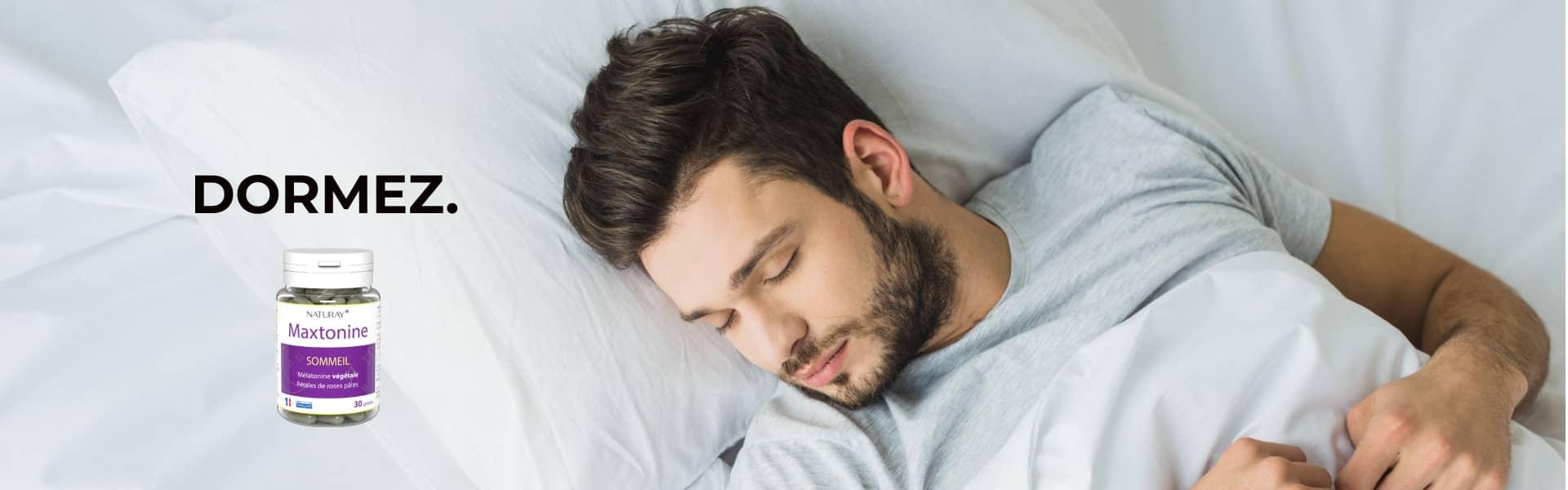 Maxtonine contre l'insomnie